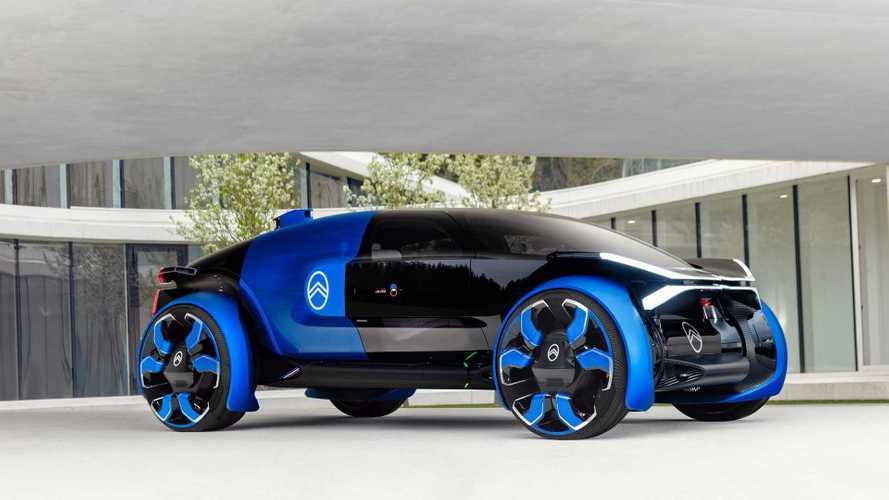Citroën 19_19 Concept: Futuristisches Langstrecken-Mobil