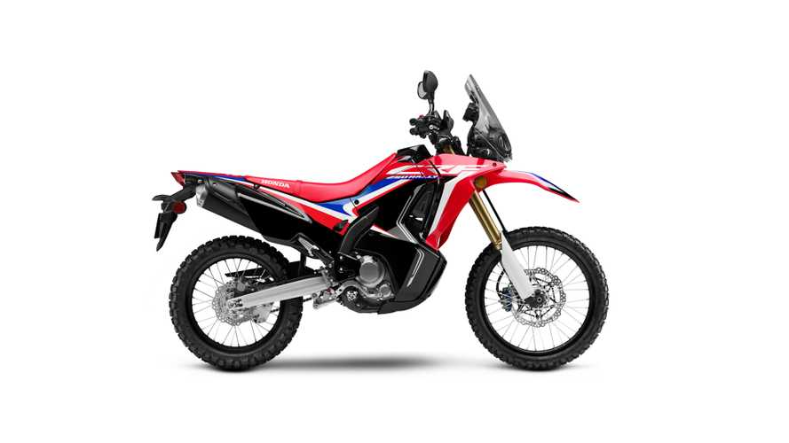 Take A Look At Honda's Street Legal CRF250L Rally