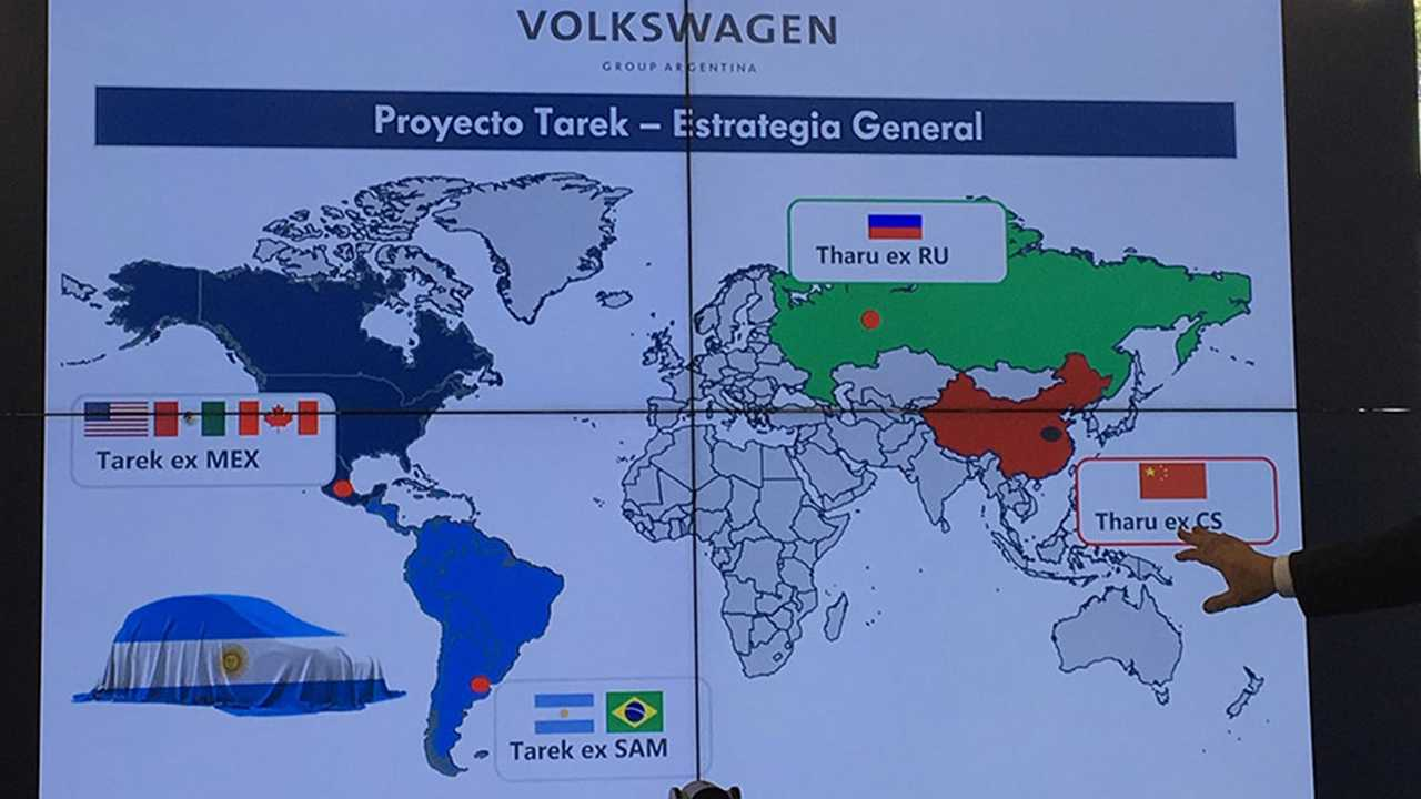 Volkswagen Tarek In United States