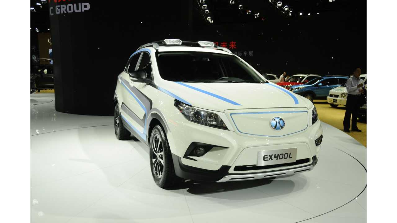 BAIC New Energy Vehicle Sales Surge Upwards In March