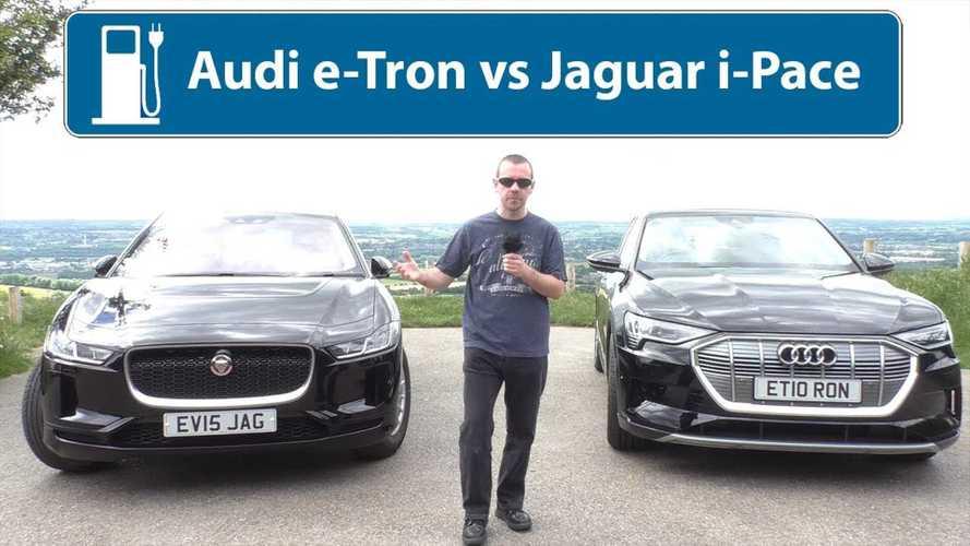 Audi E-Tron Vs Jaguar I-Pace: One Is A Far Better Choice (Video)