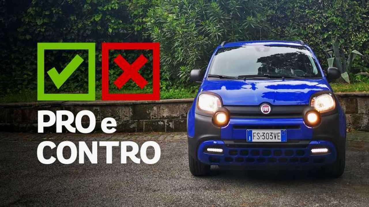 Fiat Panda 1.2 City Cross, pro e contro