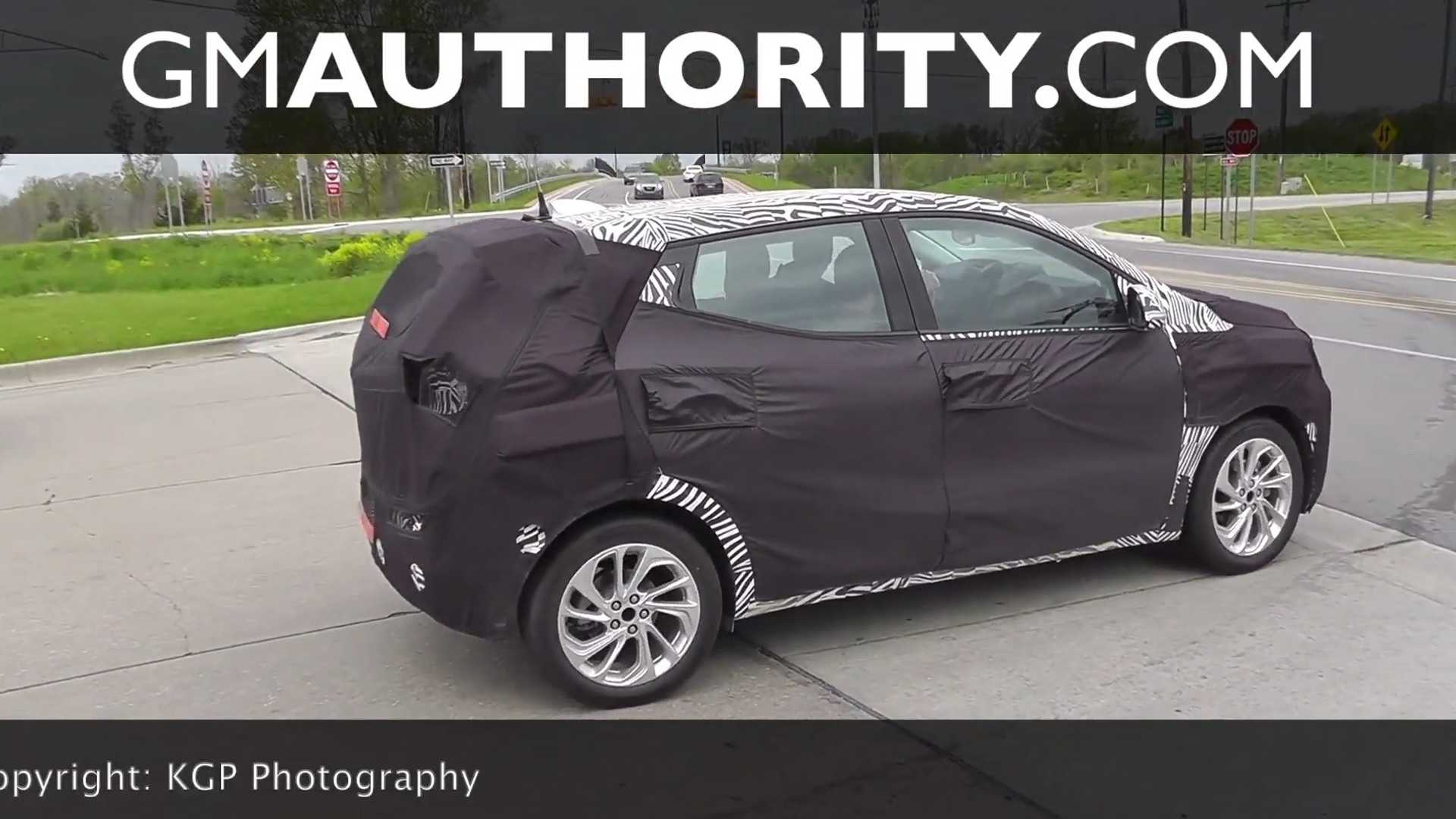 Chevrolet Bolt EUV Spied In Public: Video