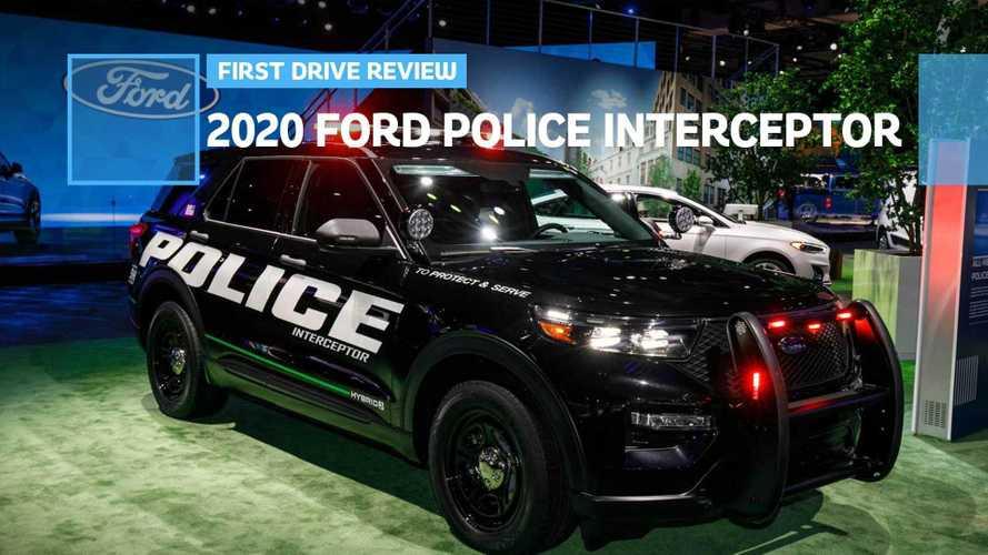 2020 Ford Police Interceptor Utility Hybrid First Drive: Boys In Blue Go Green