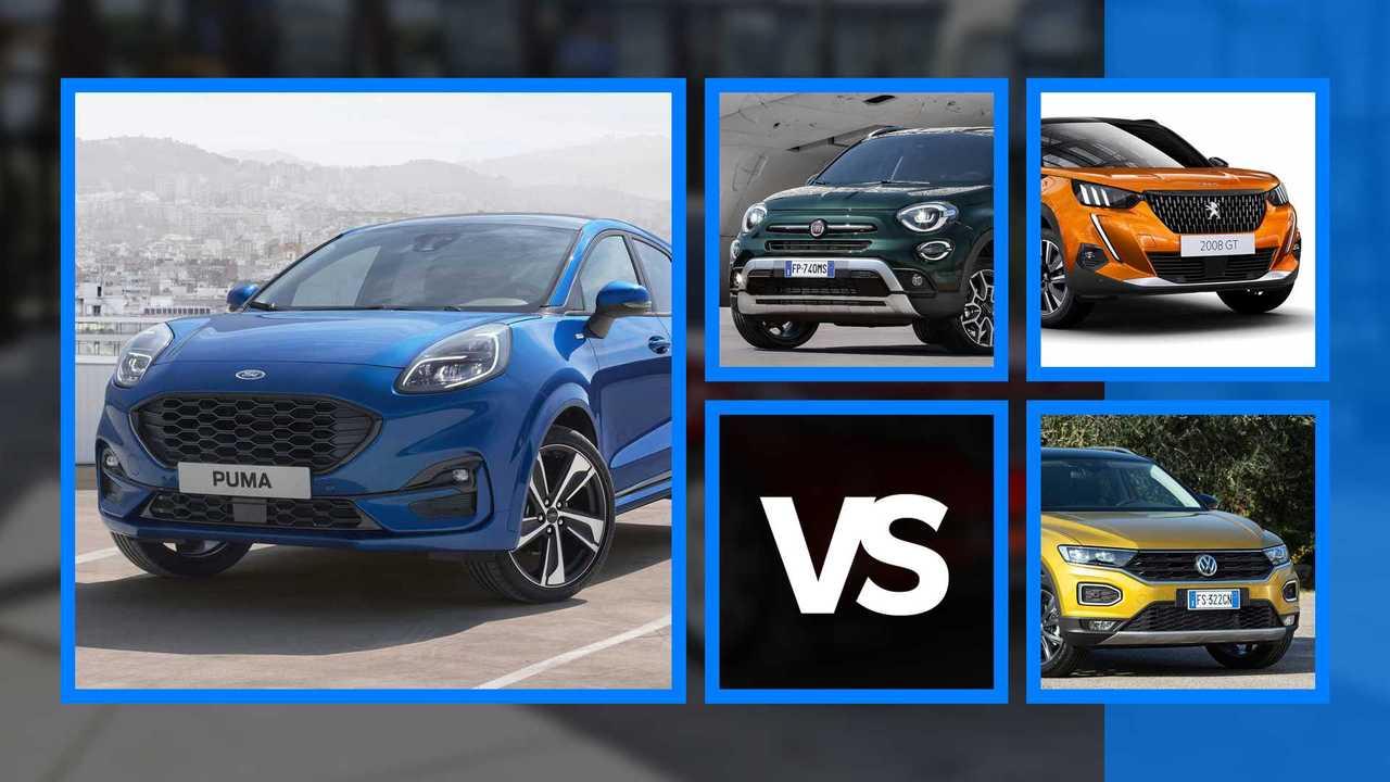 Ford Puma vs avversarie