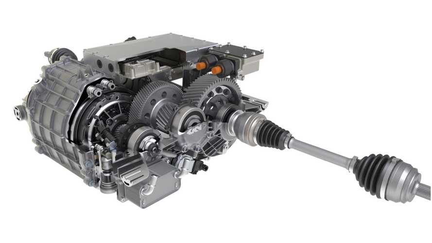GKN Automotive eDrive cutaway