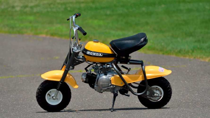 This Beautifully Restored 1970s Honda Minibike Can Be Yours