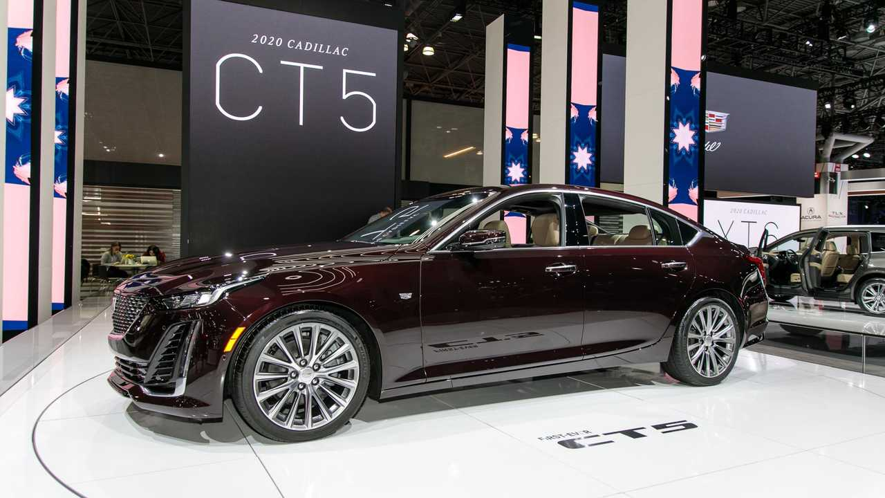 2020 Cadillac CT5 Live Images | Motor1.com Photos