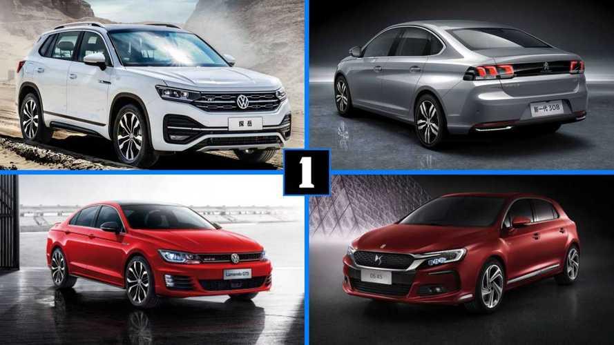 10 coches europeos que solo se venden en China