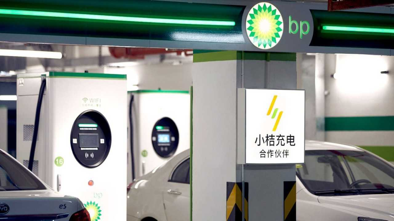 BP charging station in China
