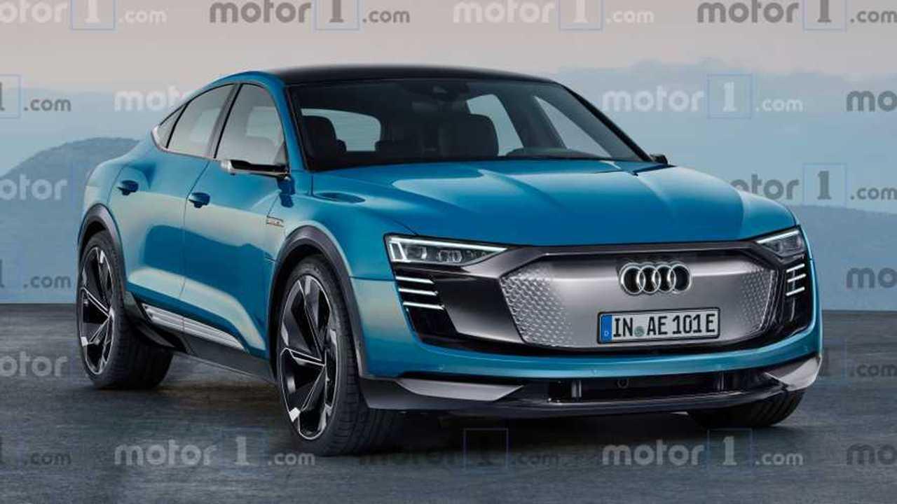 Audi E-Tron Sportback rendering