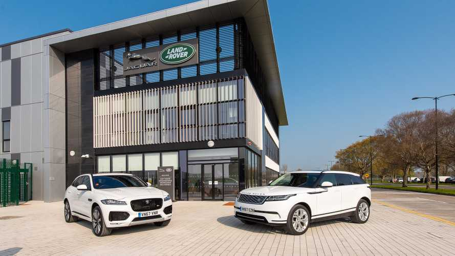 Jaguar Land Rover cryptocurrency technology