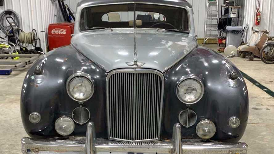 Incredibly Rare 1956 Jaguar MKVIII Seeks New American Home