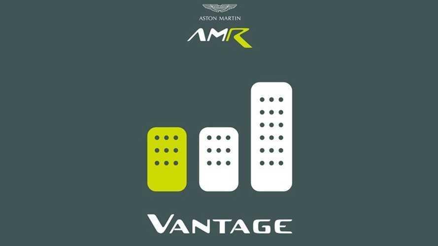 Aston Martin annonce la Vantage AMR munie d'une boîte manuelle !