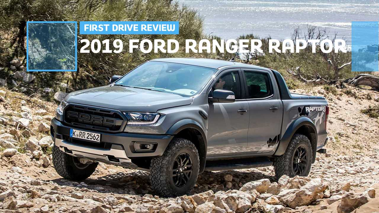 2019 ford ranger raptor first drive  off