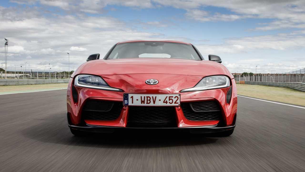 Toyota Supra 2019, primera prueba