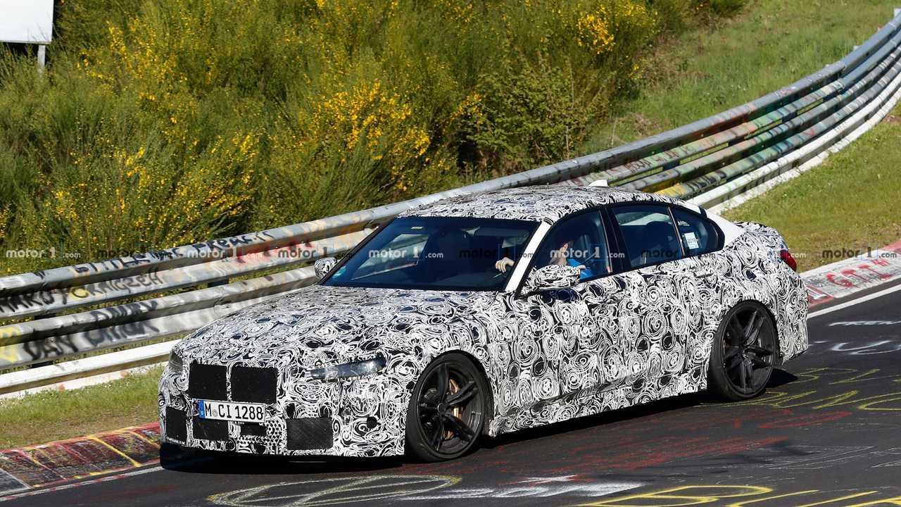 BMW M3 2020, fotos espía en Nürburgring