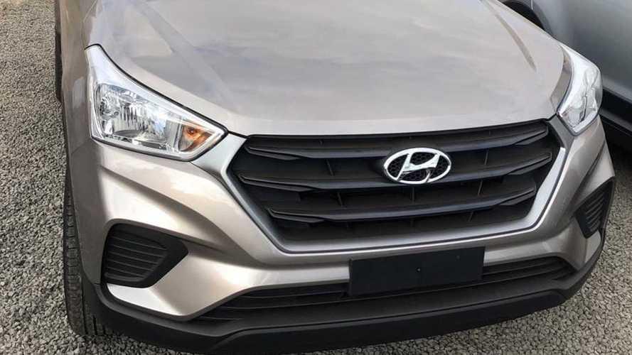 Flagra: Hyundai Creta nacional terá leve facelift na linha 2020
