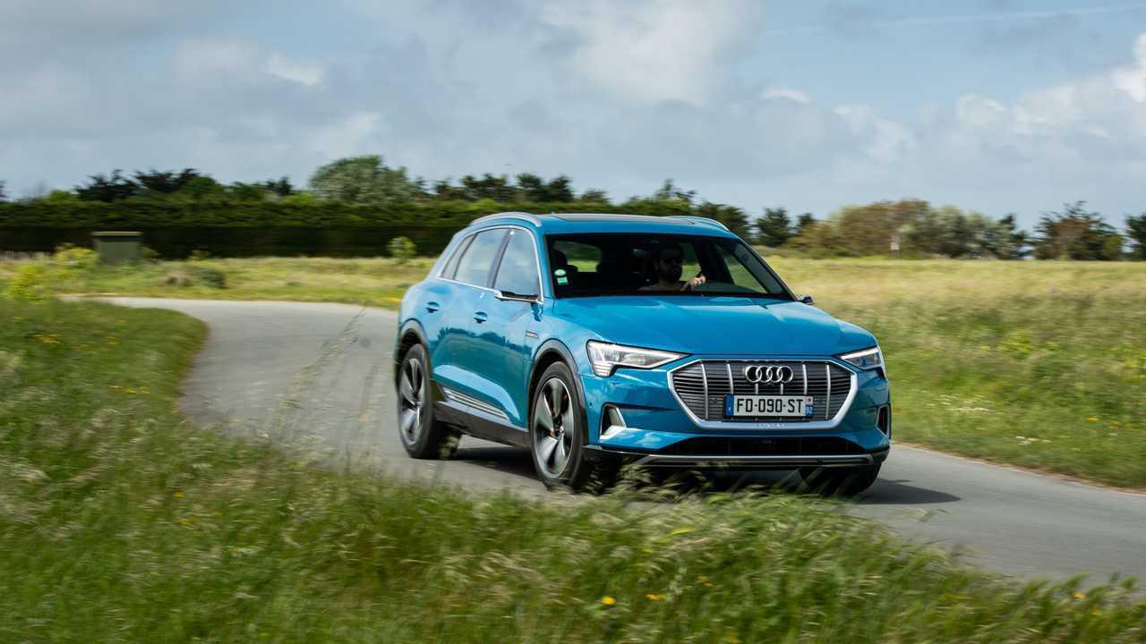 Essai Audi e-tron