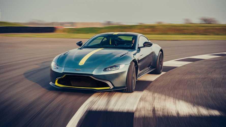 Aston Martin Vantage AMR (2019) - Passage en manuel
