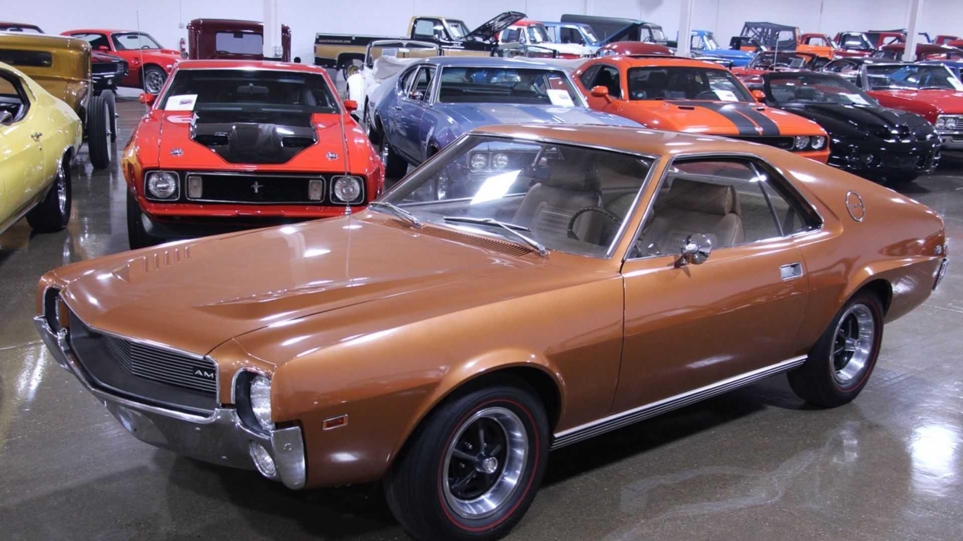The 1969 AMC AMX Was Uniquely Glorious | Motorious