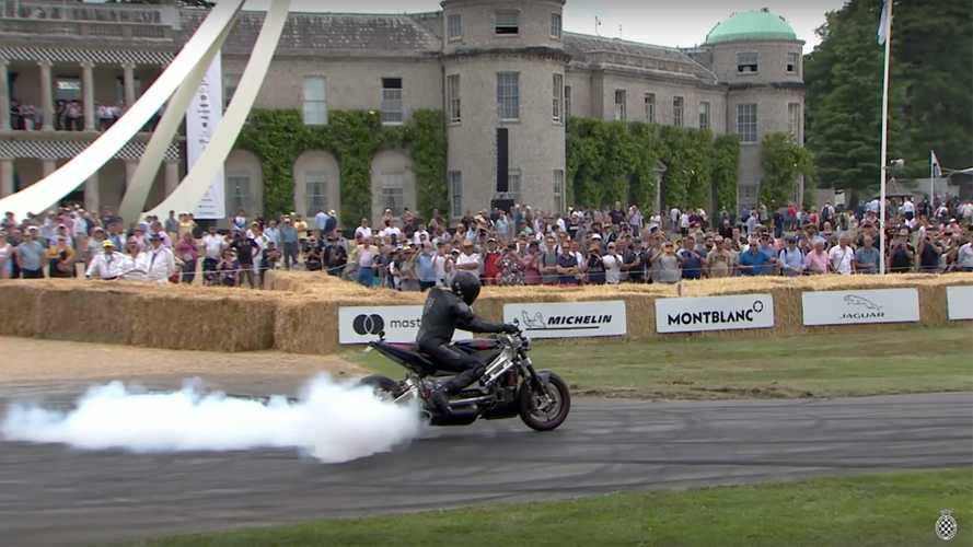 Watch This 542-Hp Turbine Motorcycle Hit The Track At Goodwood