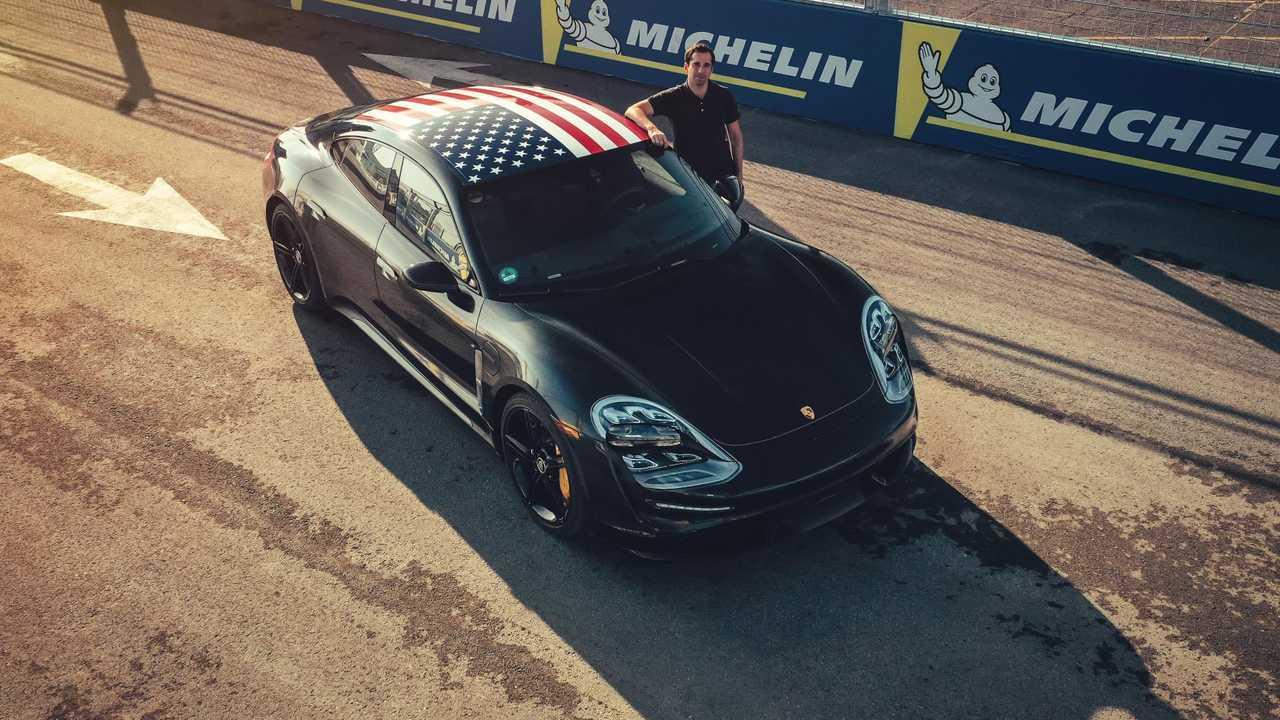 Porsche Taycan prototype New York