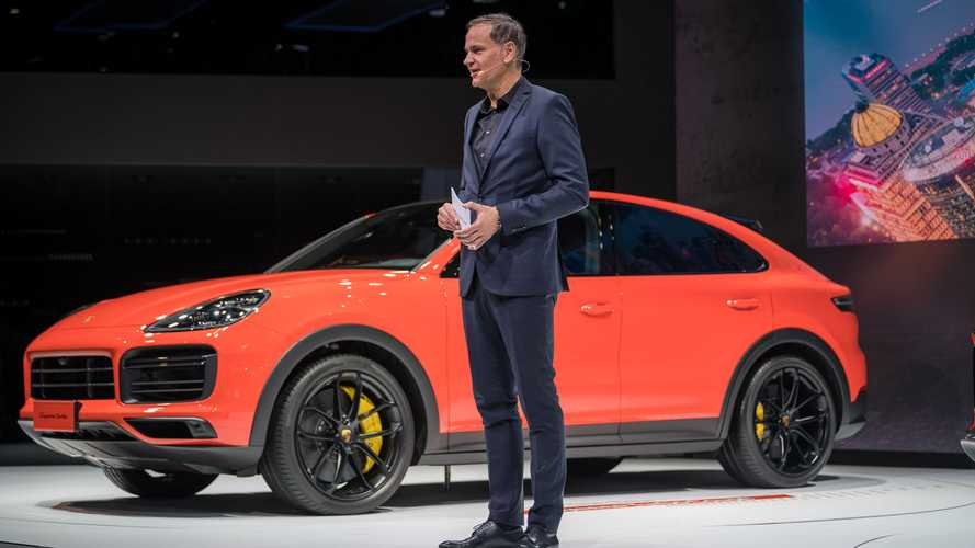 Porsche Cayenne Coupe makes auto show debut in Shanghai