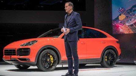 Porsche Cayenne Coupe, Şangay Otomobil Fuarı'nda tanıtıldı