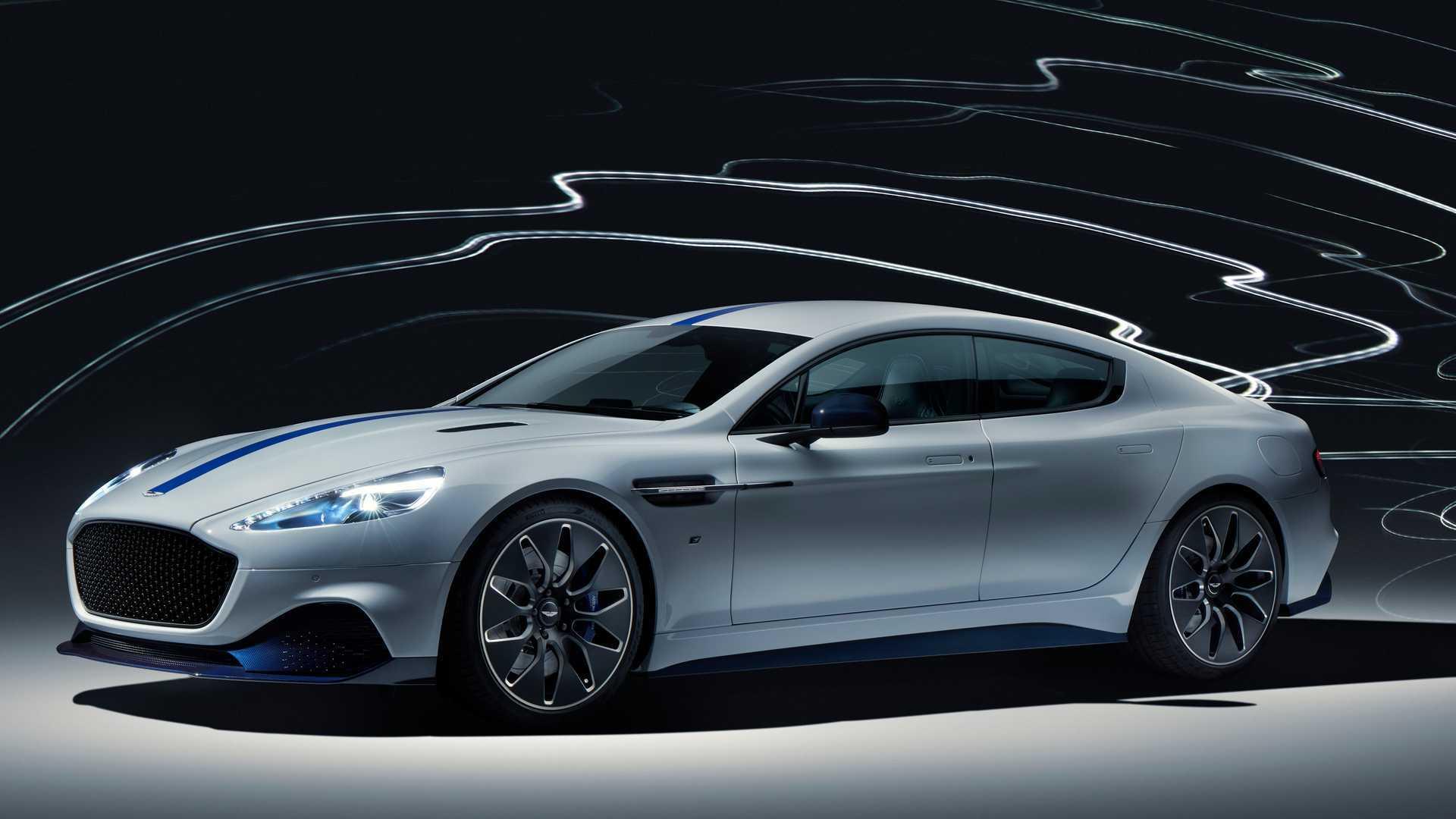 Представлен серийный электрокар Aston Martin Rapide E