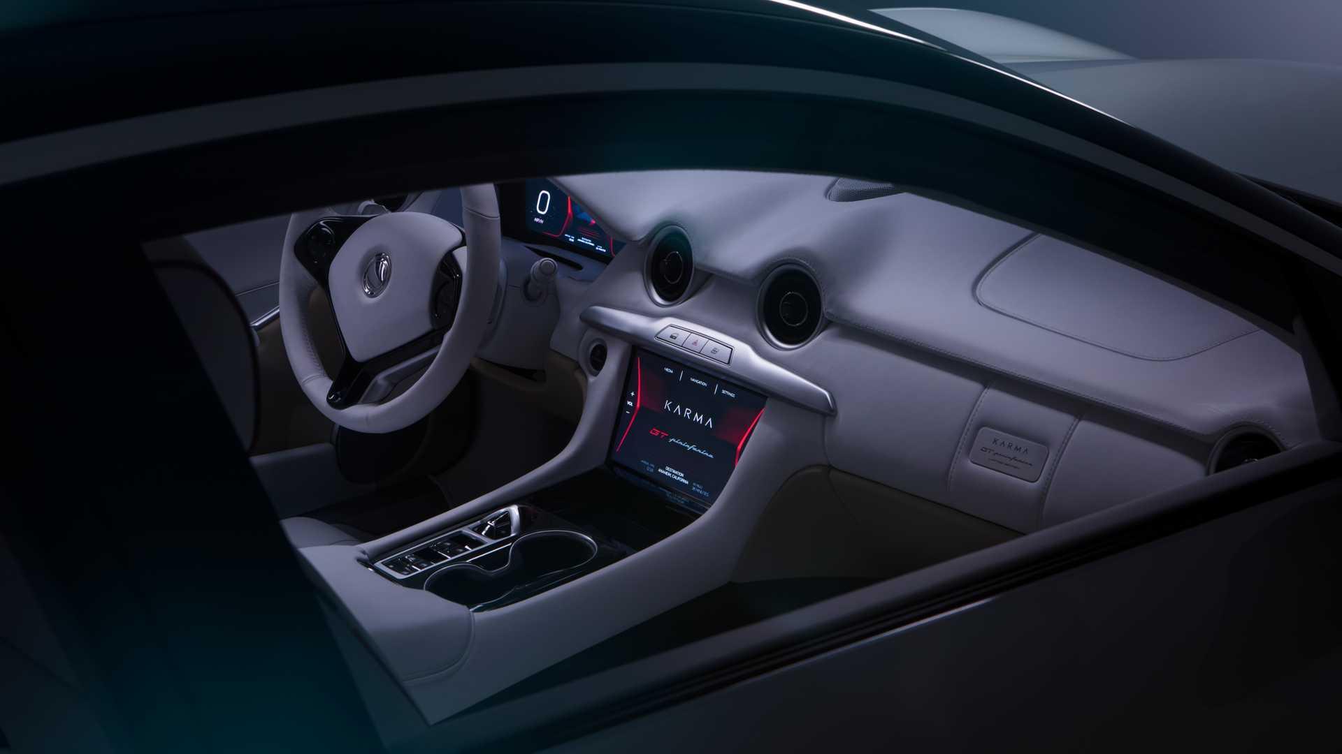 Karma Pininfarina GT Interior