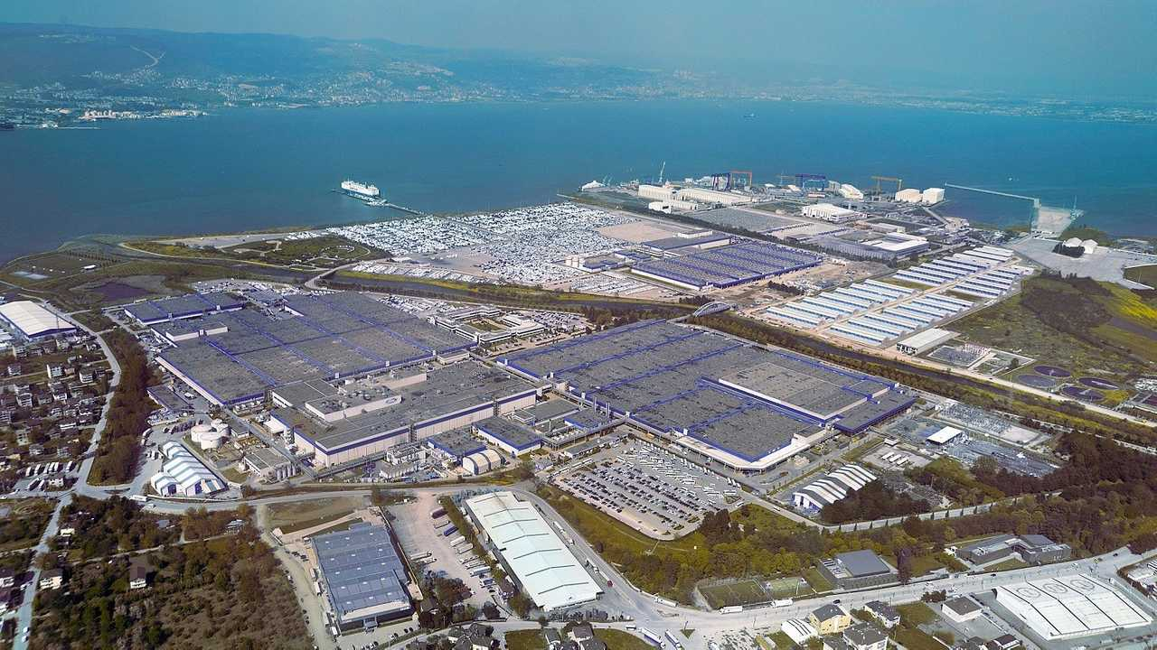 Ford Otosan Kocaeli Fabrikası Drone Çekimi