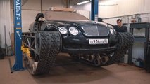 Bentley Continental GT: Ultratank