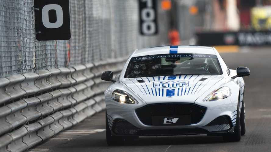 L'Aston Martin Rapide E se défoule à Monaco