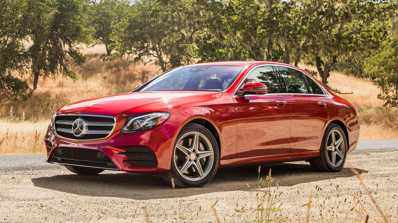 8. Mercedes-Benz E-Class: 4.8 Percent
