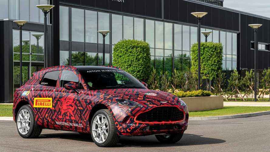 Il prototipo dell'Aston Martin DBX