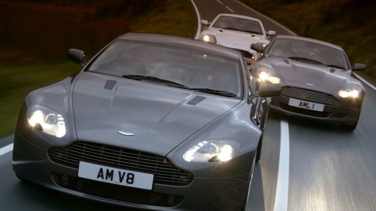 Current Aston Martin Line-up