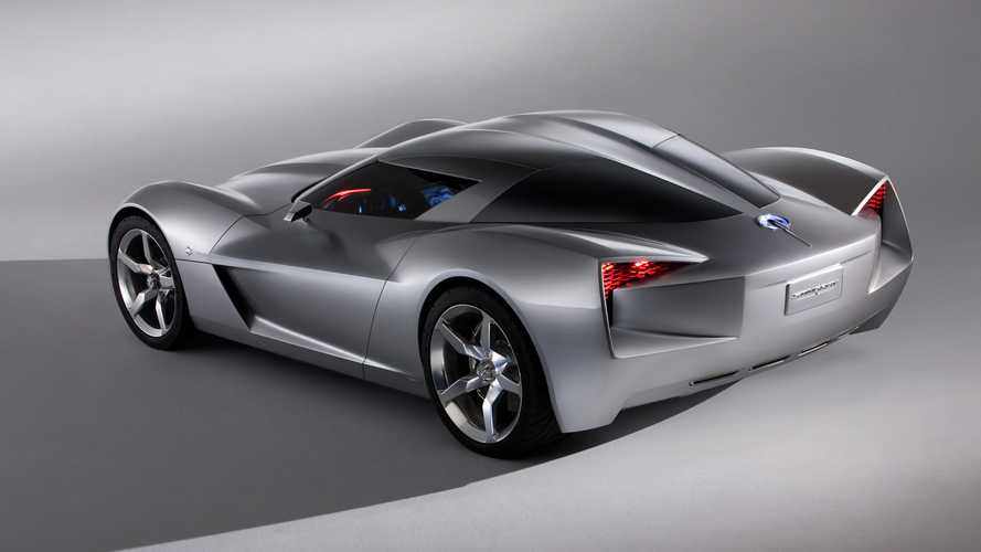 Chevrolet Corvette Stingray >> 2009 Chevy Corvette Stingray concept | Motor1.com Photos