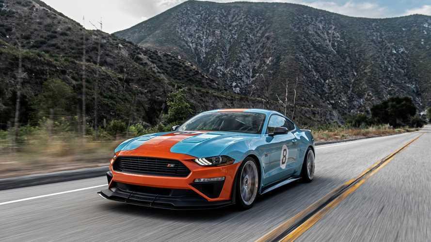 Roush Mustang Gulf Heritage - Une série limitée et 800 chevaux sous le capot