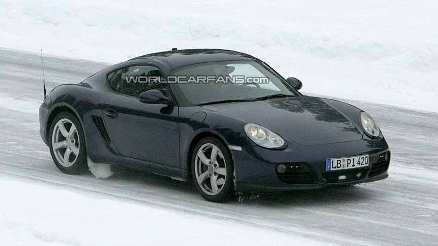 SPY PHOTOS: Porsche Boxster and Cayman Facelifts