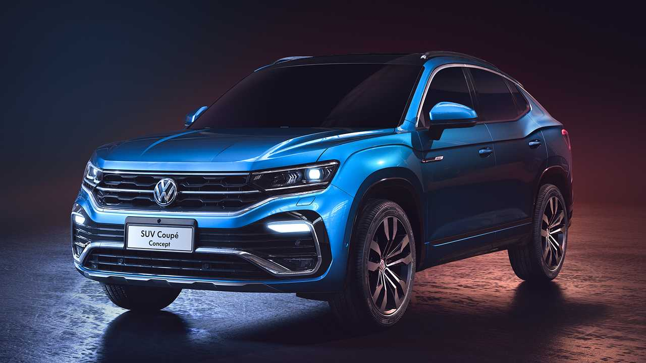 VW SUV Coupe Concept lead image