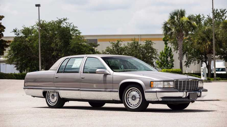 Would You Pay $33k For A Pristine 1996 Cadillac Fleetwood Brougham?