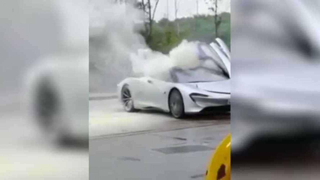 McLaren Speedtail Fire Video