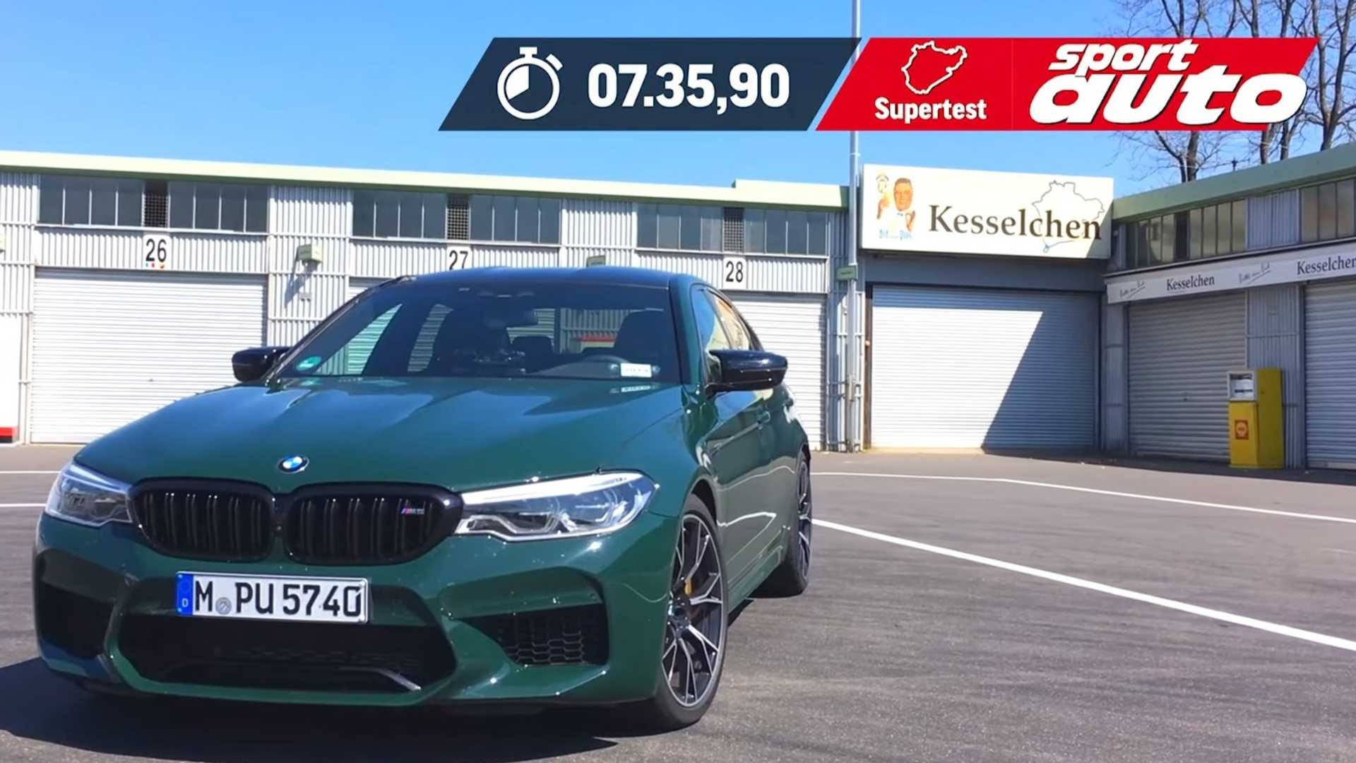 See BMW M5 Competition Lap The Nurburgring In A Remarkable 7:35
