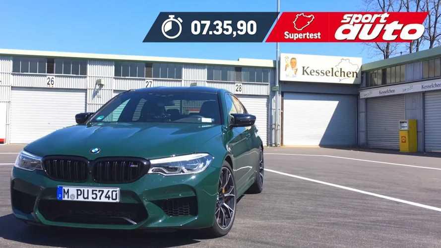 BMW M5 Competition'ın 7:35'lik Nürburgring turunu izleyin