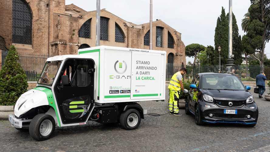 E-Gap, la ricarica per auto elettriche a domicilio arriva a Roma