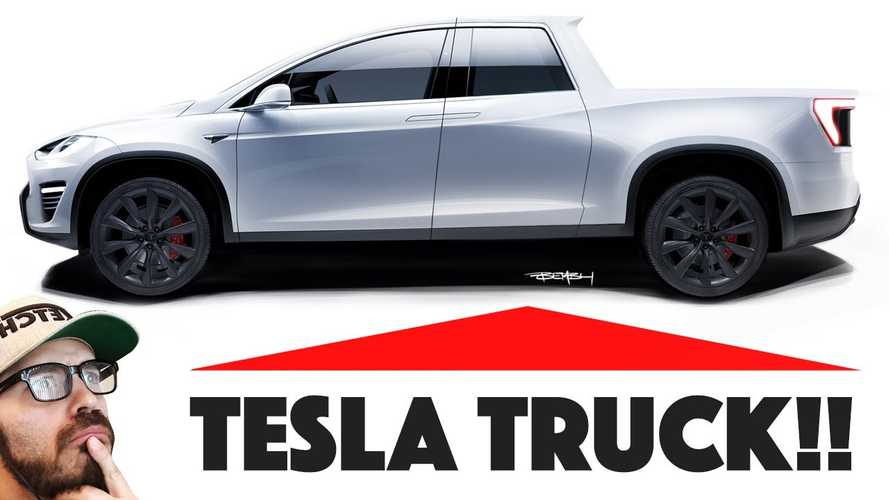Tesla Pickup Rendered To Imagine Future Heavy Hauler