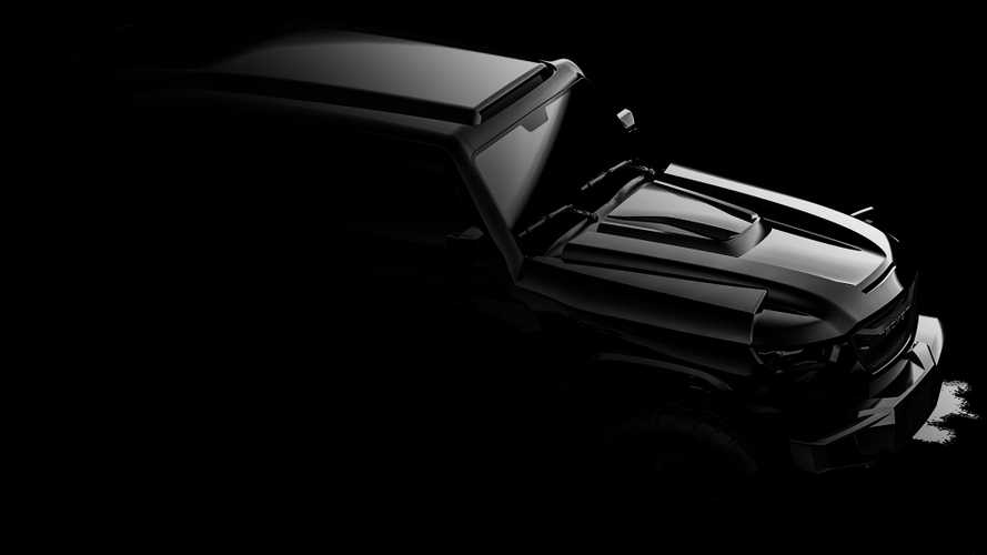 2020 Rezvani Tank teased with new look, optional EMP protection