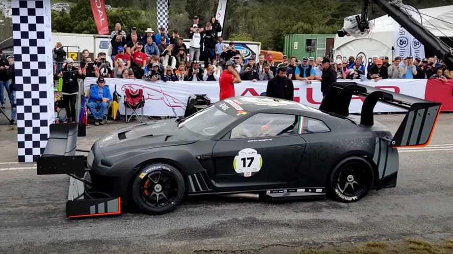 Vídeo: un Nissan GT-R con 1.600 CV, en acción