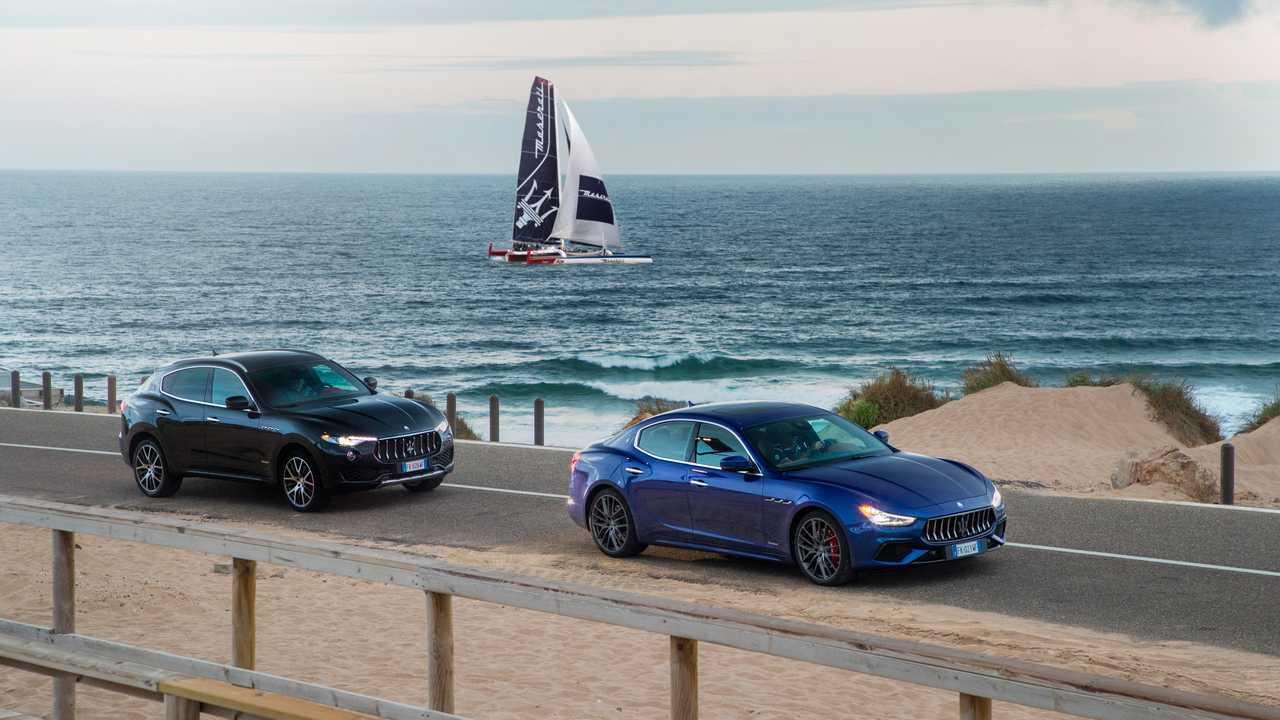 Modelos Maserati con nombre de viento